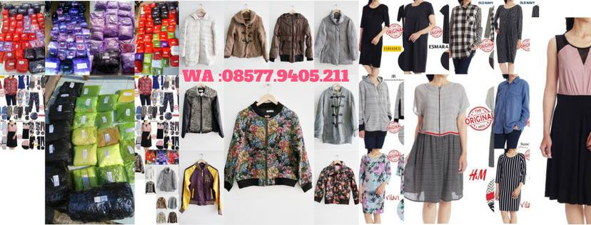 Distributor Baju Branded Sisa Export